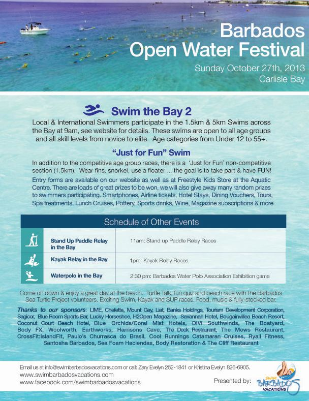Barbados Swim Festival, Oct 27, 2013