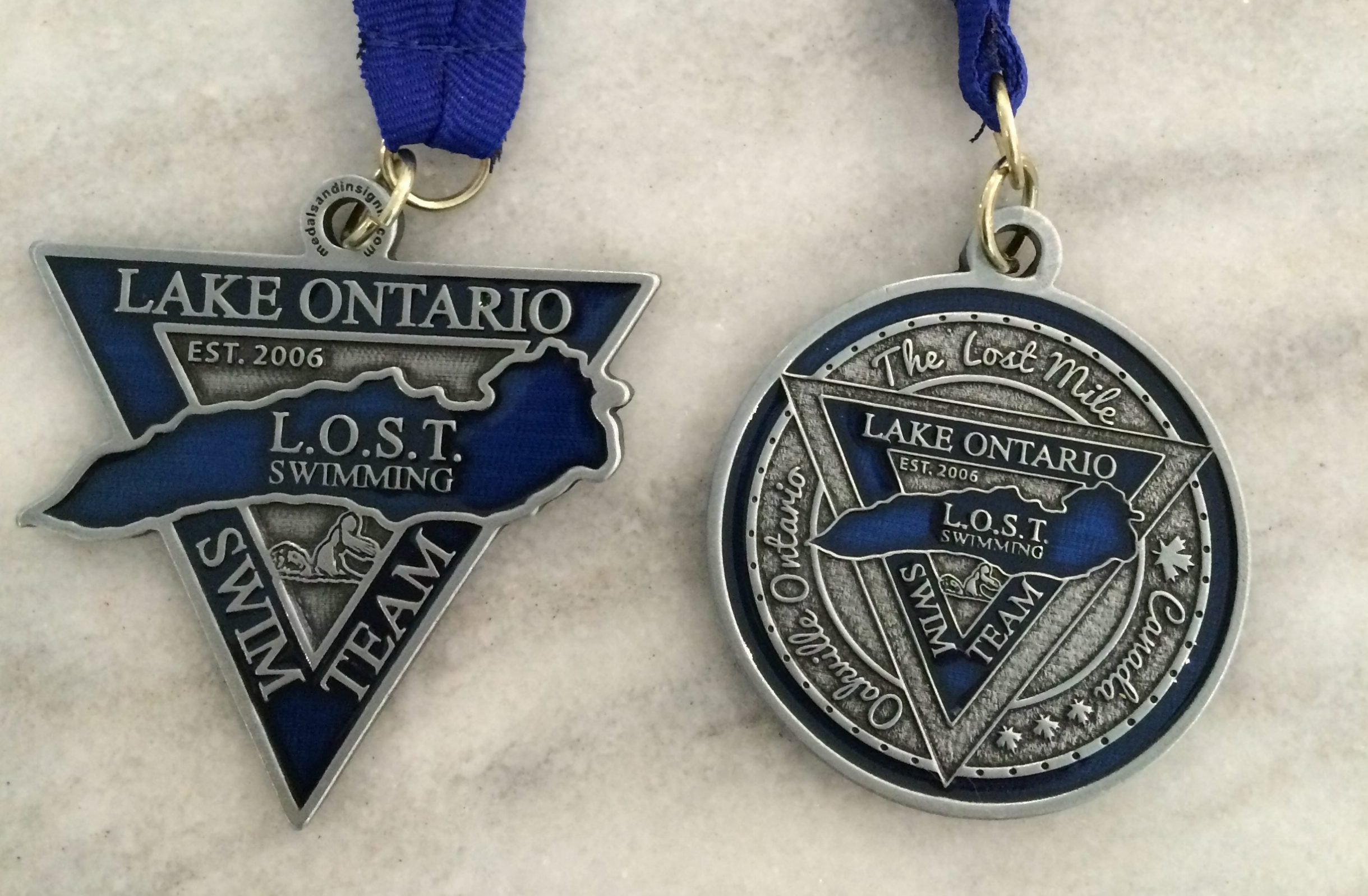 LOST Race and LOST Mile medals!